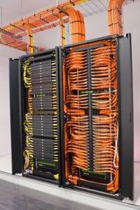 câblages informatiques - baie de brassage Rouen - Le Havre - Gonfreville